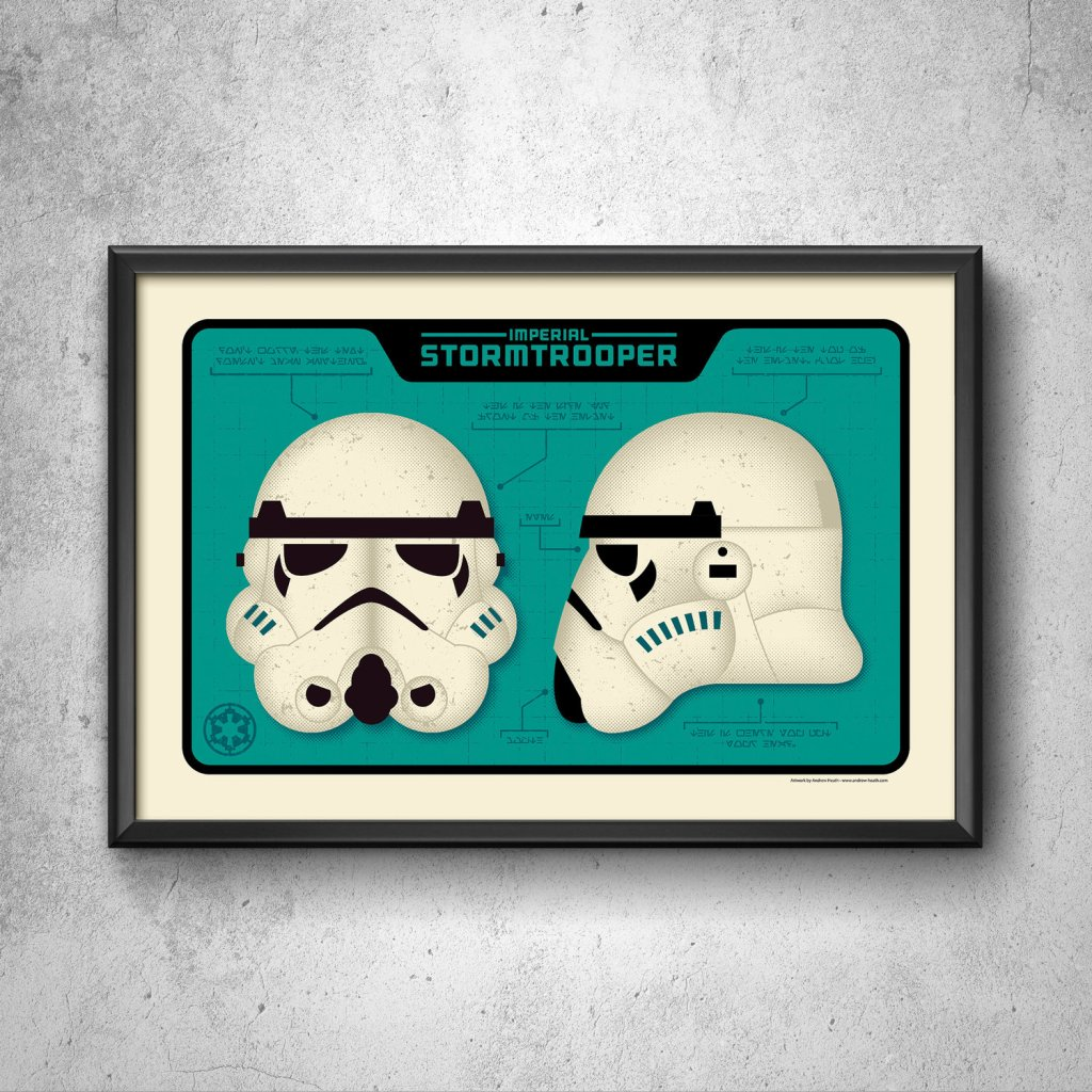 Andrew Heath's Imperial Art Print